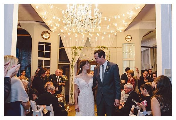 New York Metropolitan Building Wedding